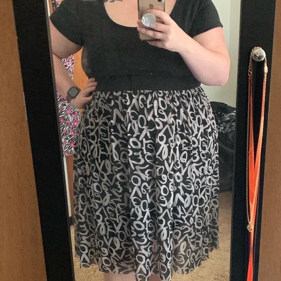 torrid Dresses & Skirts - Black love dress